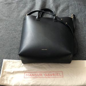 New! Mansur Gavriel north south tote